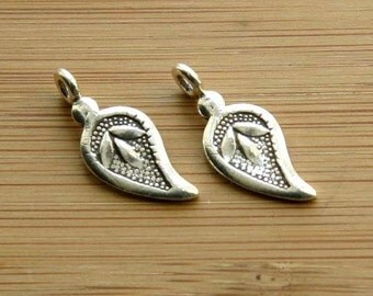 Hilltribe Silver Leaf Charms (2)