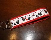 Magical Vacation Fabric Keyfob Wristlet - Mickey Mouse - Keychain - Disneyworld - Disneyland - Organization - Gift - Teacher - Women