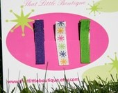 Summer Solstice Clippies Set - Buy 3, Get 1 FREE - Hair Accessories - Girls - Party Favors - Special Occasion - Birthday - Gift Idea