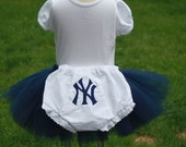 TLB Custom Personalized Monogrammed Baseball Team Yankee Mets Sox Diaper Cover Bloomers