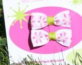 Daisy Head Maisy TLB Bow Clippies   Buy 3 sets get 1 free