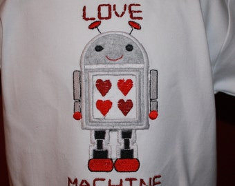 TLB Love Machine Boy Valentine Boutique Tshirt