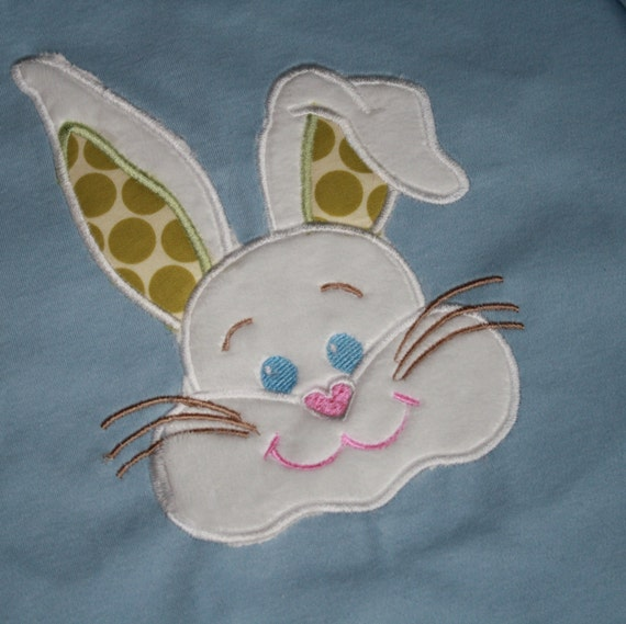 TLB Easter Boutique T shirt for boy or girl Bunny