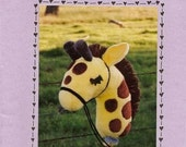 Kids Stick Giraffe Sewing Pattern by Nebraska Designer Kimberly Loberg