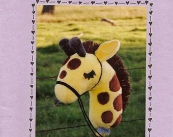 Kids Stick Giraffe Zoo animal Africa Sewing Pattern by Nebraska Designer Kimberly Loberg