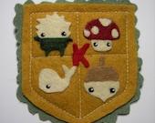 Kinoko Pin Badge