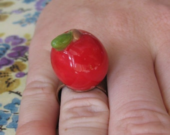 Little Apple Ring