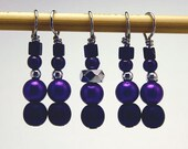 Decepticon Purple Stitch Markers
