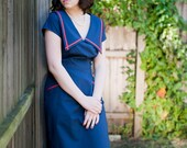 Retro womens clothing 1950s sailor dress - SAMPLE SALE