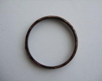 Black and Bronze Bangle Ring
