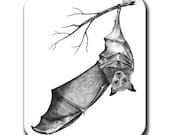 Bat Wing Wave Art Mouse Pad
