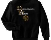 Dumbledore's Army New Recruit Harry Potter Fan Art Sweatshirt Adult Small - 2XL