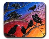 Ravens Mouse Pad - A Jury of 12