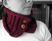 October Discount Tyrian Purple Cowl