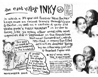 The East Village Inky, Issue No. 25
