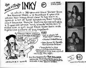 The East Village Inky, Issue No. 22