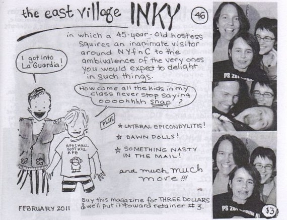 The East Village Inky, Issue no. 46