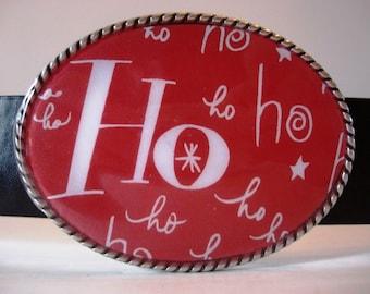 Holidays Belt Buckle - Merry Christmas Jada Belt Buckle