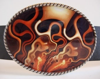 Lava Lamp Belt buckle- Add a Belt for only 8 Dollars - SALE