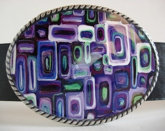 Purple Passion Belt Buckle