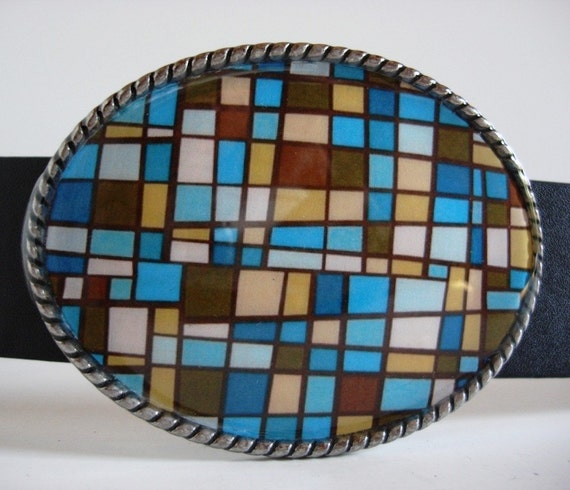 Jada Belt Buckle - Mosaic - Add a Belt for only 8 Dollars - SALE