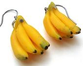 Ripe Banana Earrings