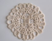 White Doilies - 7 inches in diameter - 8 pieces