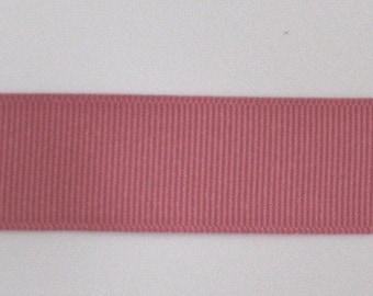 "Grosgrain Ribbon Colonial Rose-8yds 2 1/4"" wide or 10 yds 1 1/2 inch or 16 yds 7/8 inch or 22 yds 5/8 inch"
