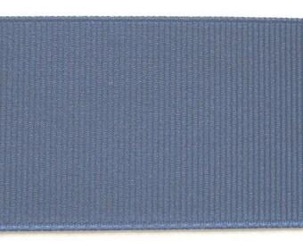 "Grosgrain Ribbon Blueberry - 10 yds 1 1/2 inch wide or 16 yds 7/8"" wide"