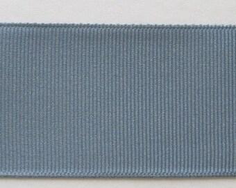 """Grosgrain Ribbon Antique Blue -16 yds 7/8"""" wide or 20 yds 5/8"""" wide"""