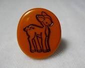 Woodland Deer Fawn Little Mini Ring