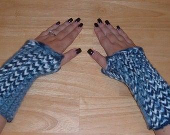 Ladies Arm Warmers - GOT THE BLUES