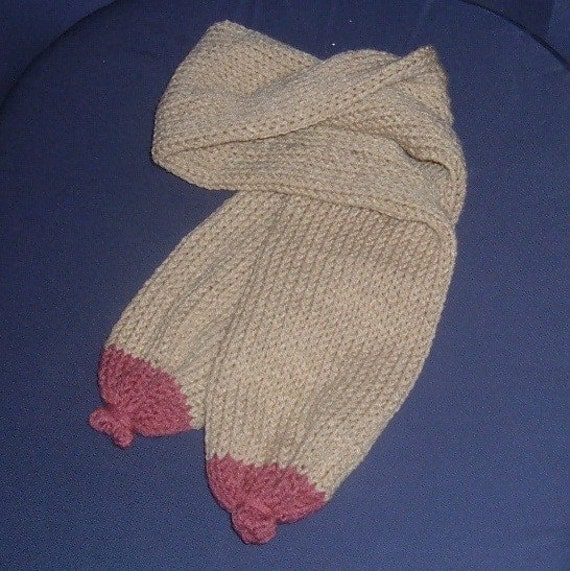 Knit Scarf - BOOB TUBE - Susan G Komen Collection