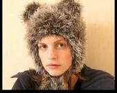 Furry Hood - Crochet Pattern