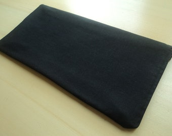 All Black-  Apple Magic Keyboard Sleeve, Apple Keyboard Case, Samsung Wireless Keyboard Sleeve - Padded and Zipper Closure