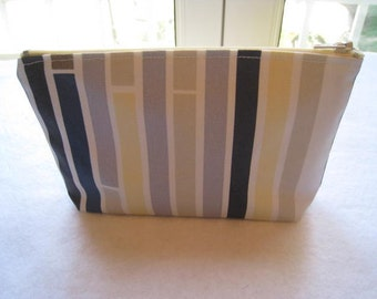 Skyline Cool - Large Zippered Pouch - Ready to Ship