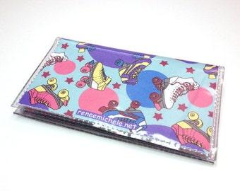 Retro Roller Skate Card Holder Wallet