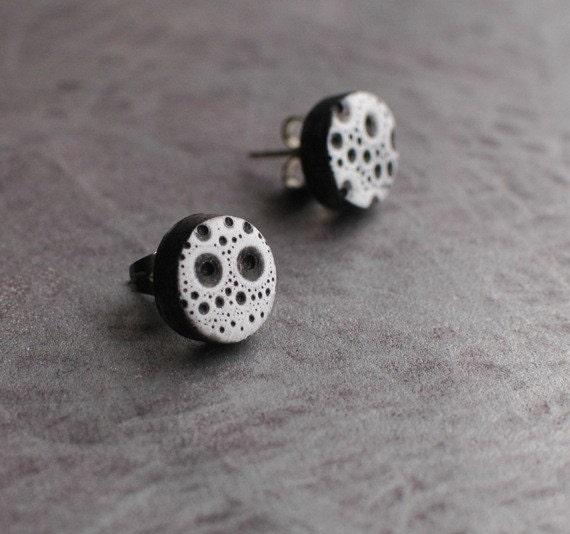 Sea Urchin post earrings