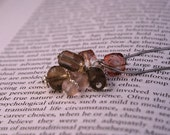 Custom Order for Christinac130 - Pink Topaz, Smokey Quartz, Rose Quartz Wedding Pendant