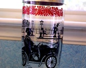Antique Car, Horse & Buggy, Street Scene Martini Shaker
