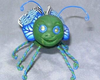 Charmer , a bug sculpture