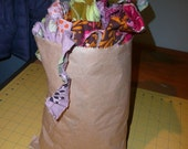 Out with the old in with the New Fabric Scraps