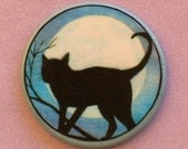 CAT Full MOON Talisman Amulet Witch Wicca Wiccan Pagan Gothic Totem