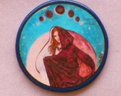 LUNAR ECLIPSE Moon Witch Talisman Amulet Witch Wicca