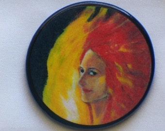 FIRE ELEMENT Talisman Amulet Witch Wicca