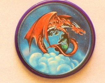 EARTH DRAGON Talisman Amulet Witch Wicca Pagan Gothic