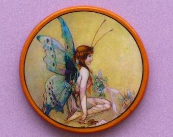 Vintage FAIRY PRINCESS Talisman Amulet Witch Wicca Pagan