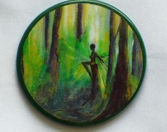 REDWOOD FAIRY Talisman Amulet Witch Wicca