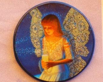 ANGEL PRAYER Talisman Amulet Witch Wicca