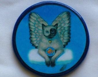 KITTY CAT Angel Talisman Amulet Witch Wicca